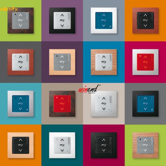 Somfy buton serileri fiyatları